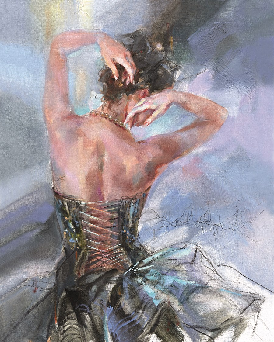 Forever Young by Anna Razumovskaya - Hand Finished Limited Edition on Canvas sized 16x20 inches. Available from Whitewall Galleries